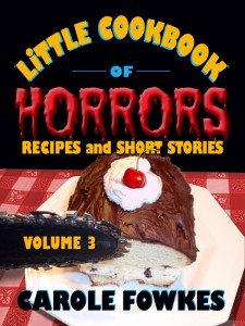 Little Cookbook of Horrors volume 3 cover